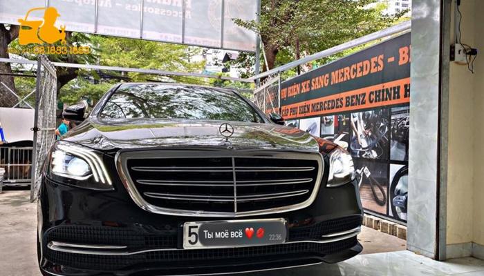 Chìa khóa thông minh Keyless-Go Mercedes Benz Sala