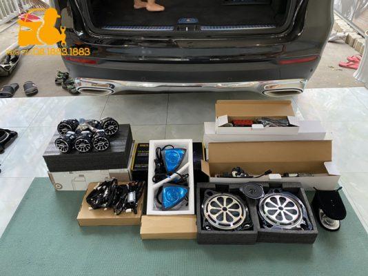 Hệ thống loa Burmester cho Mercedes Benz