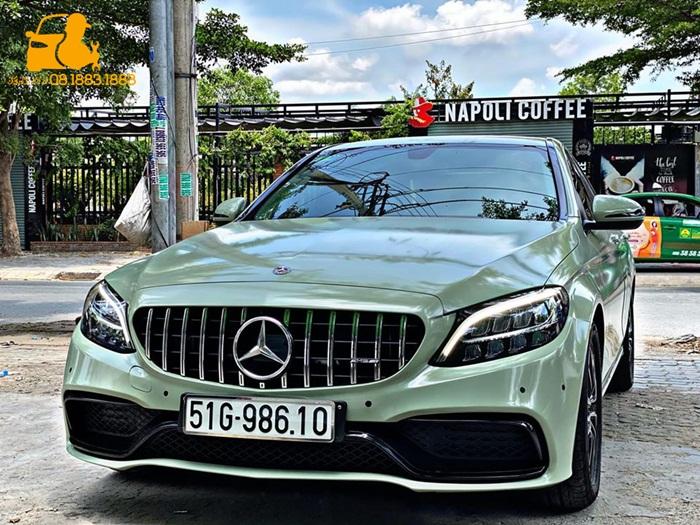 Loa xoay 3D cho xe Mercedes Benz
