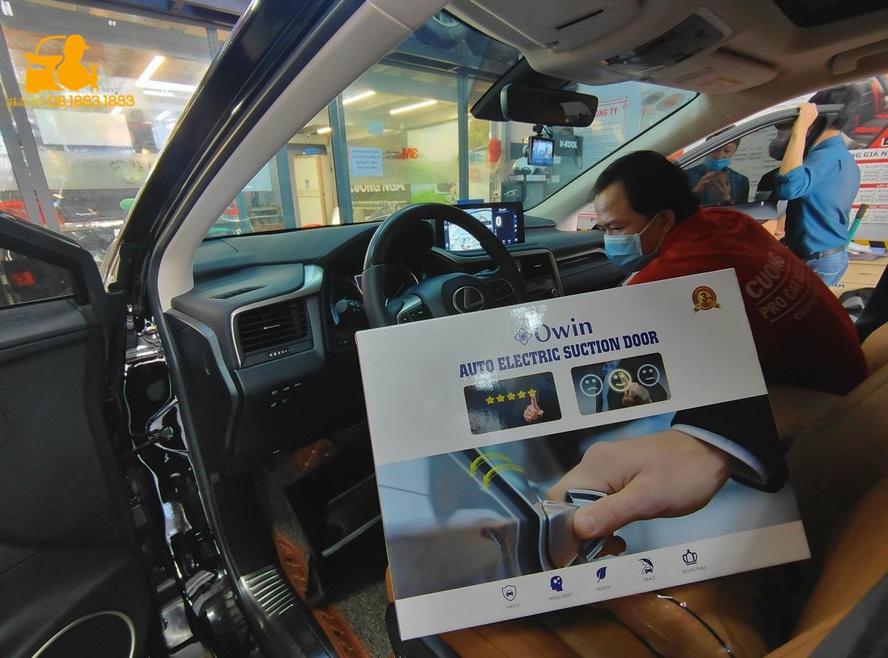 Cửa hít ô tô tự động