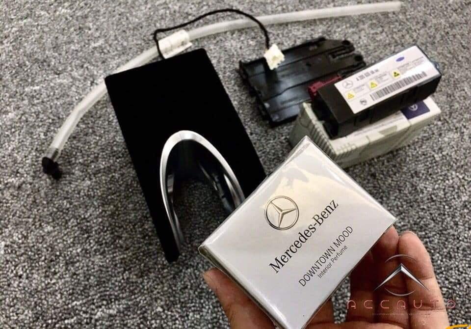 Phụ kiện xe sang Mercedes Benz - Đơn vị lắp đặt hệ thống phun nước hoa